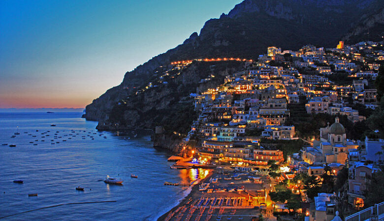 positano sunset one of the romantic things to do
