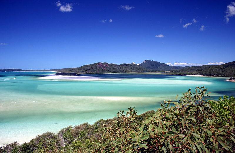Whitsunday Island in Great Barrier Reef